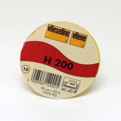 Opstrijkbare viseline wit H200