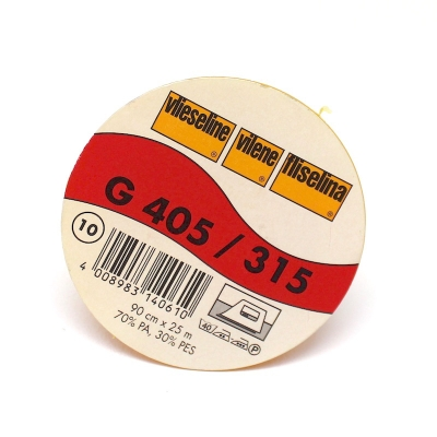 Viseline thermocollante noire G405