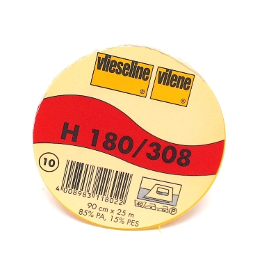 Viseline thermocollante noire H180