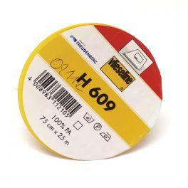 Opstrijkbare viseline wit H609