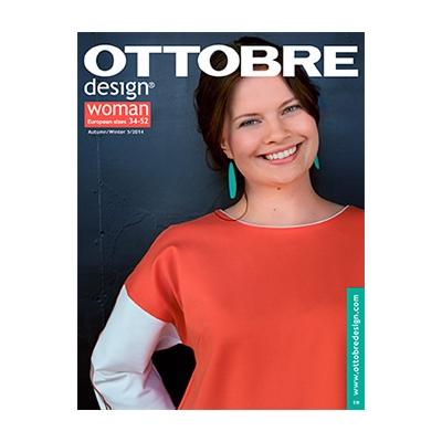 Magazine de couture Ottobre design Femmes - Automne / Hiver 5/2014