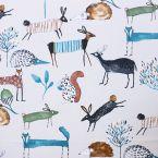 """Tissu d'ameublement animaux de la forêt """"Ho my deer"""""""