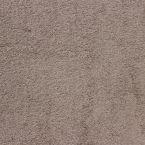 Tissu éponge hydrophile 100% coton taupe