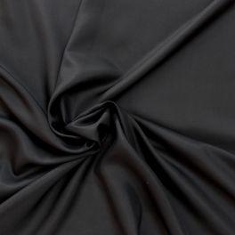 Effen zijdestof zwart