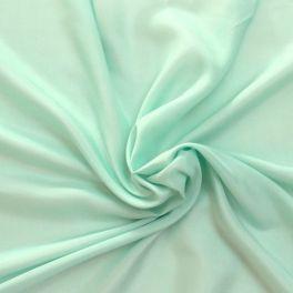 Pale green silk