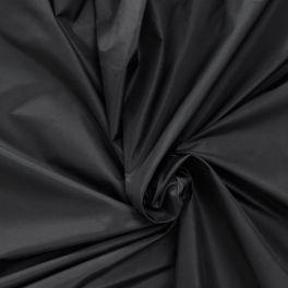 Taffeta 100% zijde zwart