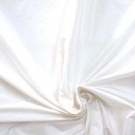 Taffeta 100% soie 100% blanc