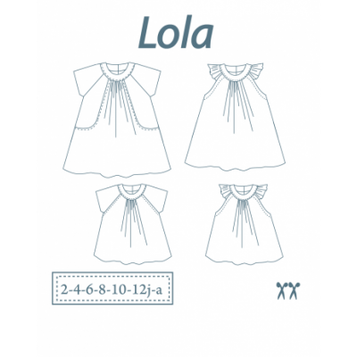"""Patron de Robe / Tunique pour enfant """"Lola"""""""