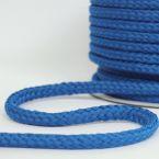 cordon tressé bleu roi 8mm