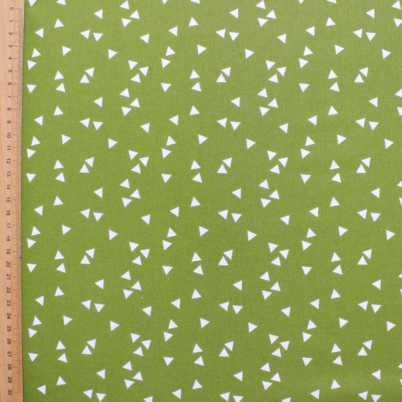 triangle pattern 100% coton fabric