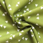 triangle pattern 100% coton fabric