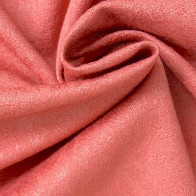 Tissu jacquard à motif médaillon terre de sienne