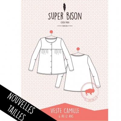 Patron blouse Camille