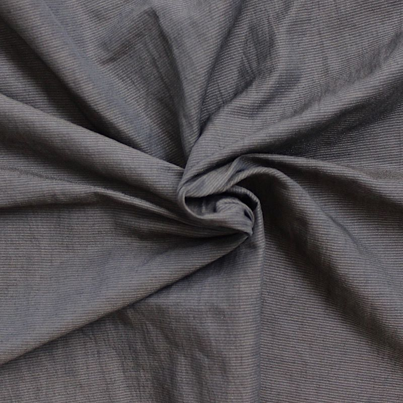 tissu vestimentaire rayures borsalino gris anthracite. Black Bedroom Furniture Sets. Home Design Ideas