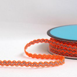 galon croquet fantaisie orange