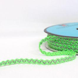 galon croquet fantaisie vert