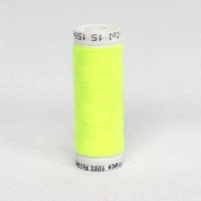Yellow fluo sewing thread