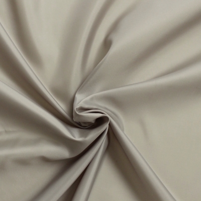 Doublure classique polyester taupe