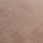 Dubbelzijdige  suede stof beige/crème
