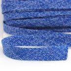 Tresse tubulaire bleu cobalte