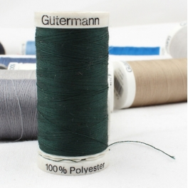 Green sewing thread