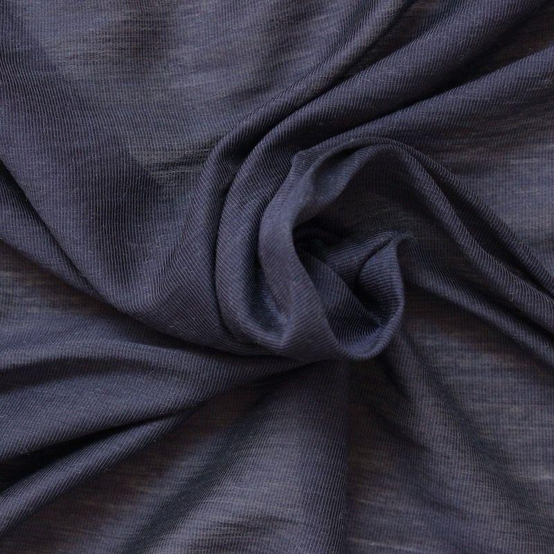 tissu soyeux rayures en mati res m lang es bleu. Black Bedroom Furniture Sets. Home Design Ideas