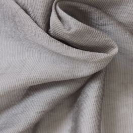Light clothing fabric striped anthracite