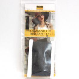 Biais noir thermocollant