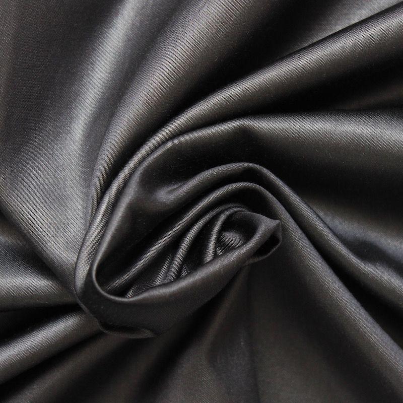 satin de coton marron sombre. Black Bedroom Furniture Sets. Home Design Ideas