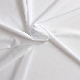 Tissu en lycra blanc