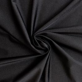 Tissu en lycra noir