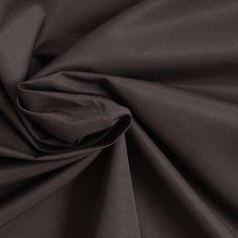 Tissu en taffeta léger brun satiné
