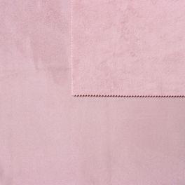 tissu pais r versible uni rose parme imitant le daim au m tre. Black Bedroom Furniture Sets. Home Design Ideas