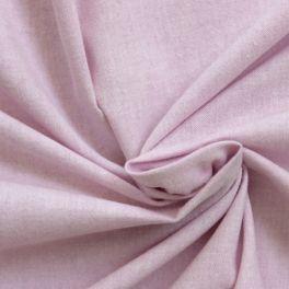 Tissu en coton gratté parme