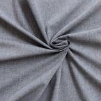 Tissu en coton chiné gris