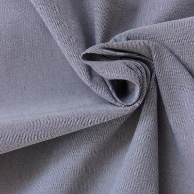 Tissu extensible effet jeans bleu délavé