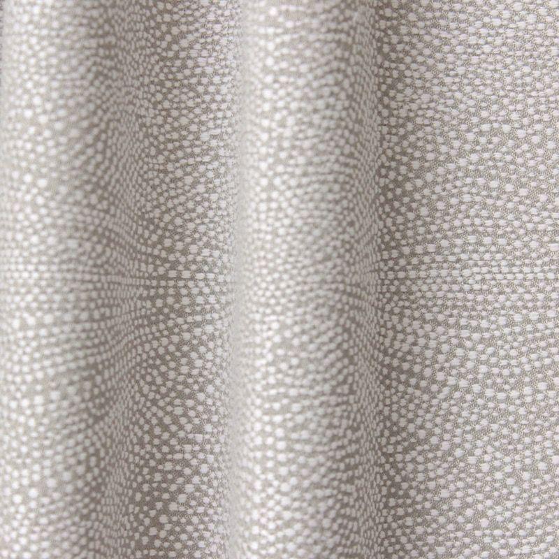 Tissu d'ameublement jacquard feu d'artifice ficelle et blanc