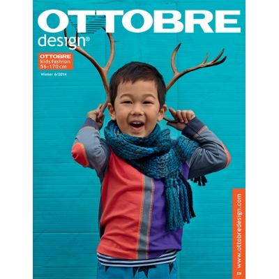 Sewing magazine Ottobre design Kids-  Winter 6/2014