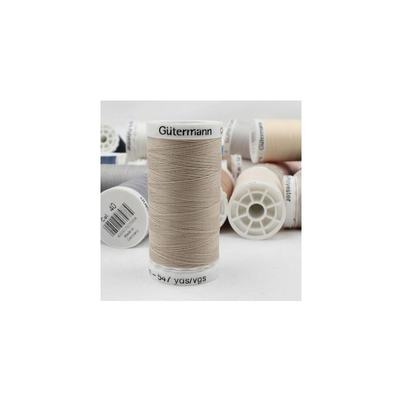 Beige sewing thread