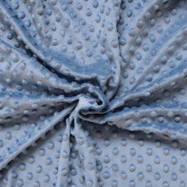 Minky velvet fabric