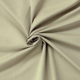 Tissu en coton gratté vert lichen