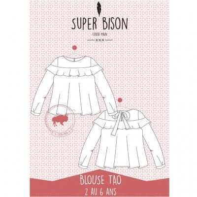 Patron blouse Tao 2 - 6 ans