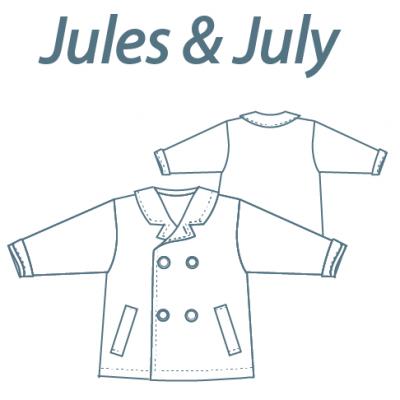 "Patron manteau ""Jule & July"""