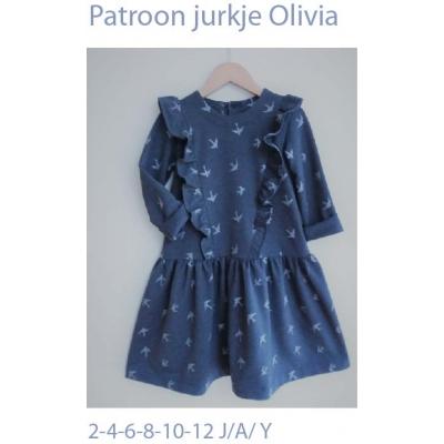 "Patron robe et petite blouse ""Olivia"""
