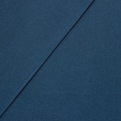 Tissu en coton uni bleu pétrole