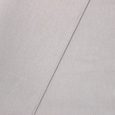 Tissu en coton uni gris perle