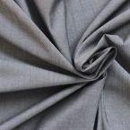 Popeline de coton effet jeans noir
