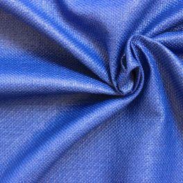 Mesh fabric dark blue