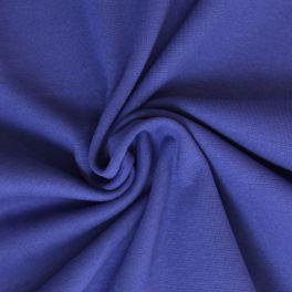 Bord côte uni bleu cobalt
