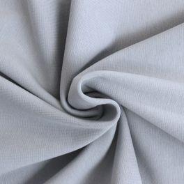 Bord côte uni gris argent